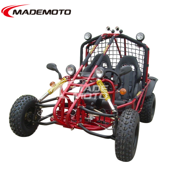 4 Wheel And 2 Seat Dune Buggy 150cc For Adult GY6 Engine Off Road Go Kart