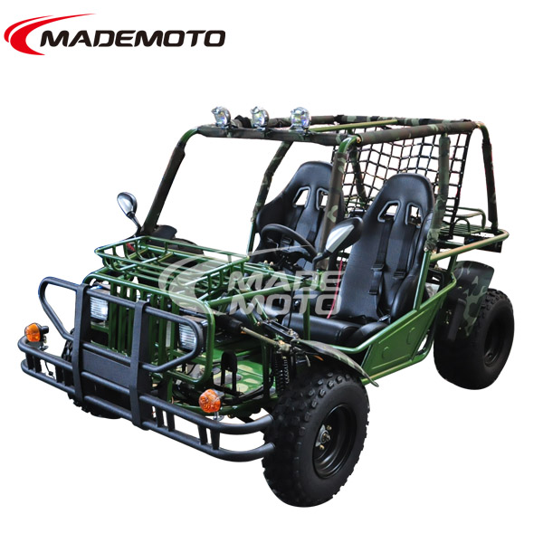 150CC Automatic Dune Buggy, Green Go Kart Hammer Style