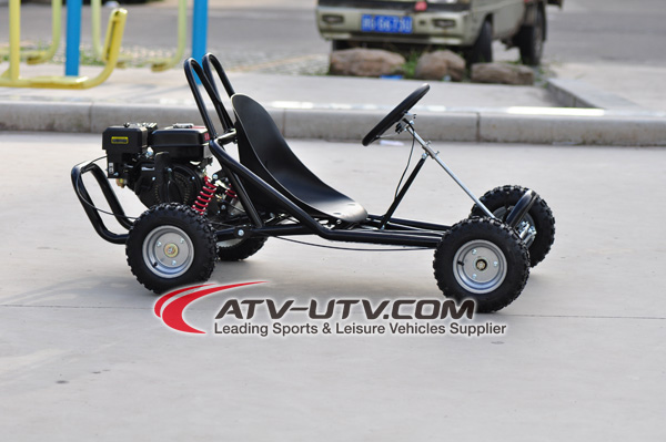 Single Seat Racing Go Kart with air cooling 168CC Engine