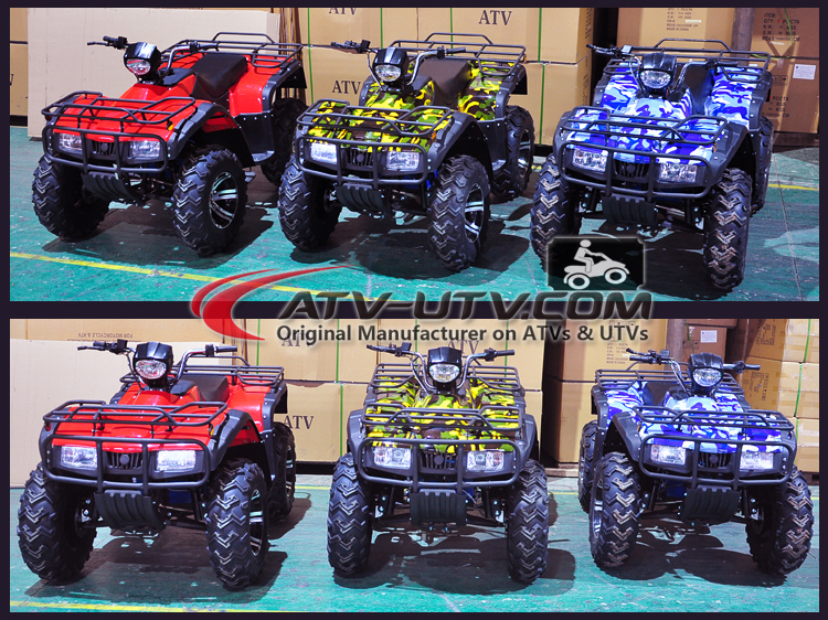 60V Electric Big Quad ATV Bike with 2200W AC Motor